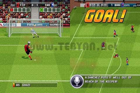 بازی فوتبال فیفا 2013 نسخه جاوا، FIFA2013