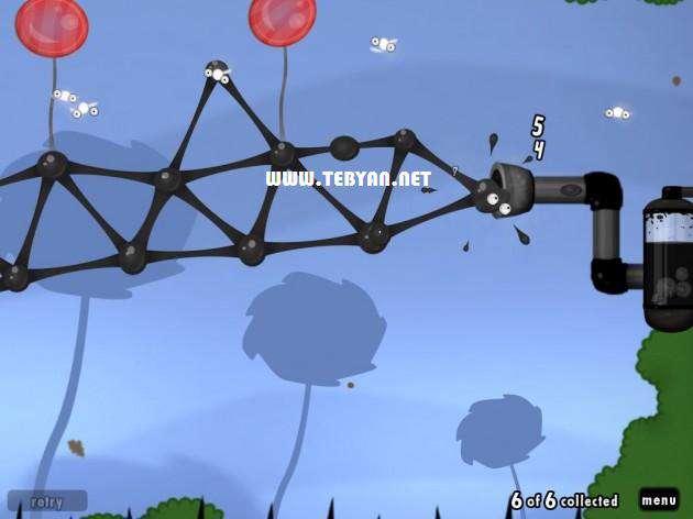 بازی مهیج و زیبای دنیای گوی نسخه اندروید، World of Goo v1.0.5