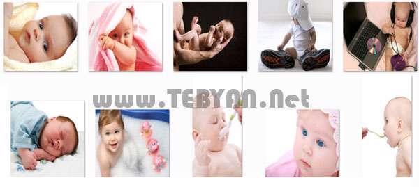 تصاویر استوک با موضوع نوزاد (Baby)