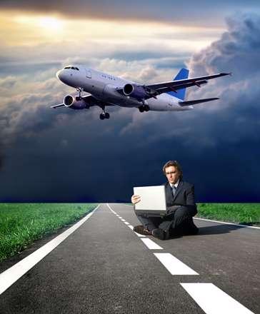 تجارت در باند هواپیما