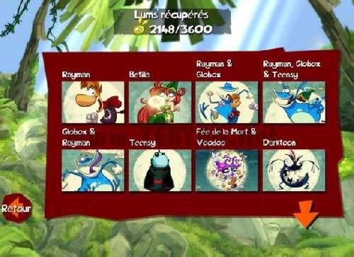 بازی زیبای ریمن نسخه اندروید، Rayman Jungle Run v1.1