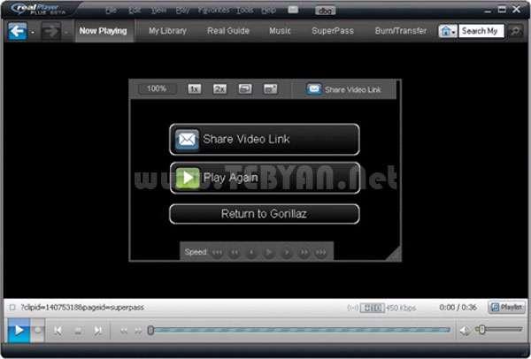 پلیر صوتی و تصویری + پرتابل، RealPlayer Plus 15.0.6.14 Final