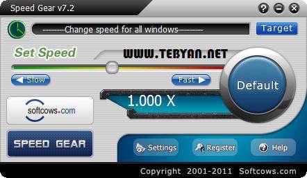 افزایش سرعت اجرای بازی به همراه نسخه قابل حمل، Speed Gear 7.2
