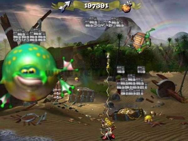 بازی قلعه قورباغه ای، Froggy Castle 2 Deluxe 1.1