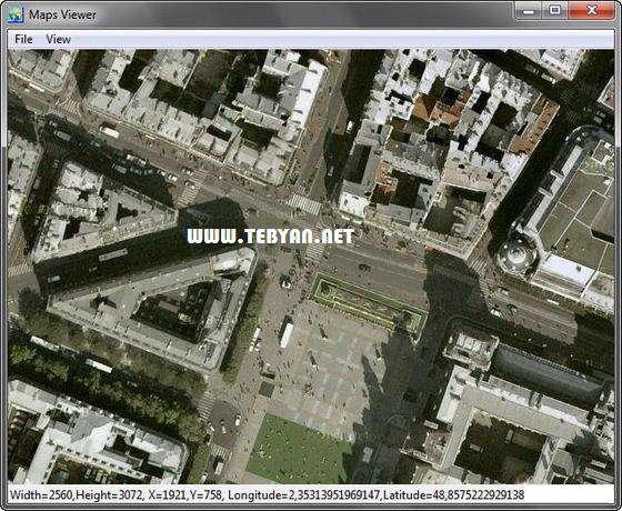 ذخیره نقشه های ماهواره ای، Universal Maps Downloader 6.85