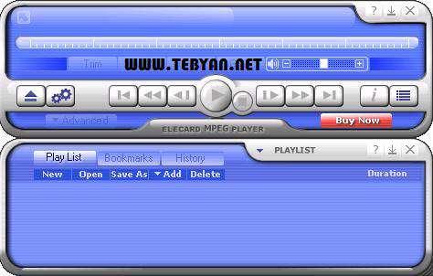 پلیر قدرتمند فایل های چند رسانه ای، Elecard MPEG Player 5.8