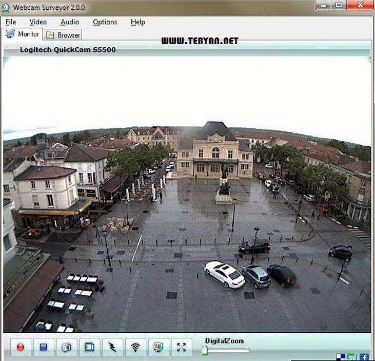 تبدیل وبکم به دوربین مدار بسته، Webcam Surveyor 2.0.6