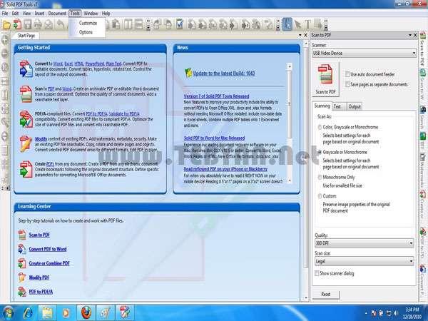 تبدیل و ایجاد فایل های پی دی اف، Solid Documents Solid PDF Tools 7.3 Build2024