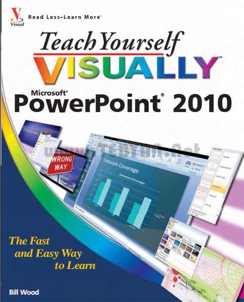 کتاب آموزش تصویری پاورپوینت 2010
