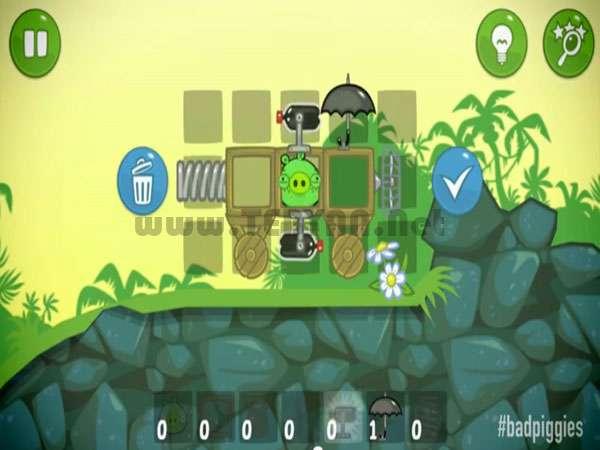 بازی خوکهای بدجنس نسخه کامپیوتر و اندروید، Bad Piggies 1.0.0