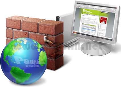 نحوه قرار دادن نرم افزار در فایروال برای جلوگیری از اتصال به اینترنت+فیلم