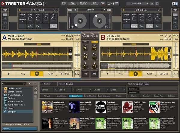 میکس و DJ حرفه ای موزیک، Native Instruments Traktor Pro 2.6.0 R14627