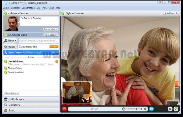 گفتگو و تماس رایگان + پرتابل، Skype 6.1.73.129 Final