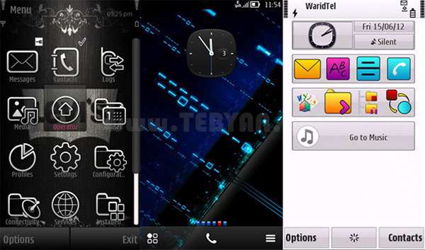 مجموعه تم موبایل ویژه نوکیا سیمبیان s60v5