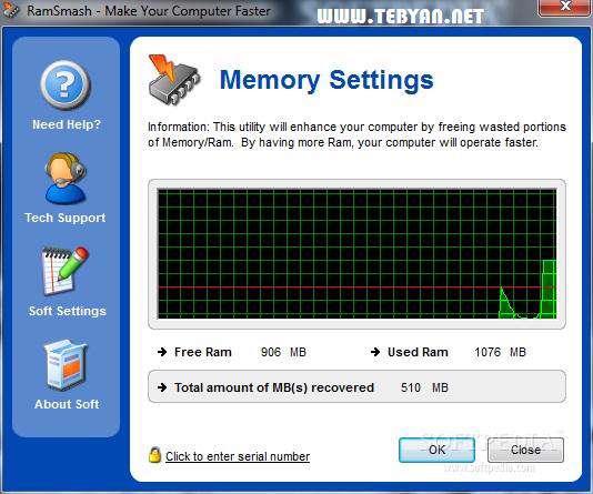 افزایش سرعت رایانه، RamSmash 2.10.22.2012