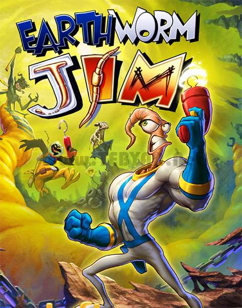 بازی جیم کرم خاکی نسخه جاوا، Earth Worm Jim