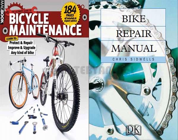 کتاب آموزش نگهداری و تعمیر دوچرخه