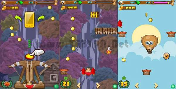بازی پرش قدرتمند نسخه اندروید و جاوا، Giga jump