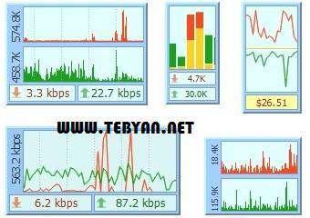 مدیریت مصرف پهنای باند اینترنت، DU Meter 6.03 Build 3728