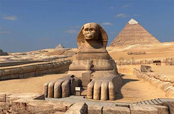 محافظ صفحه نمایش و کاغذدیواری متحرک اهرام ثلاثه مصر، Great Pyramids 3D Screensaver