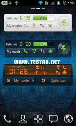 مدیریت باتری نسخه اندروید، GO Power Master Premium v2.9