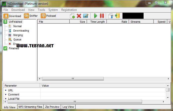 مدیریت دانلود فایل، HiDownload Platinum 8.0.4