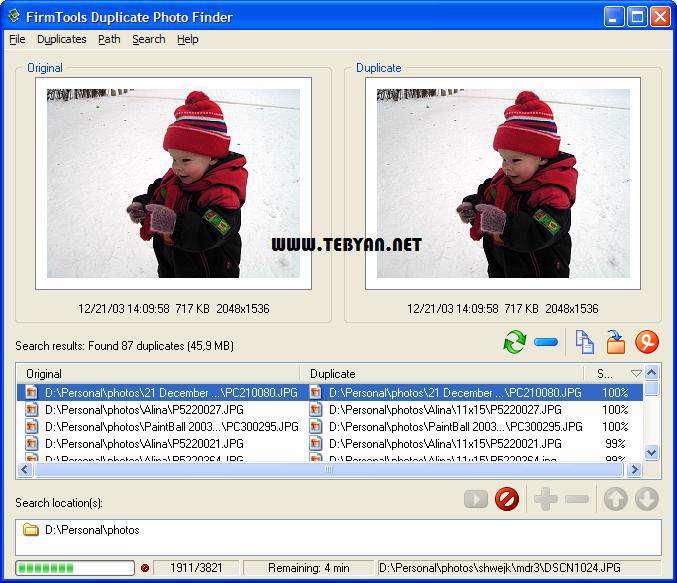 شناسایی و حذف تصاویر تکراری، Duplicate Photo Finder 3.0.0.19