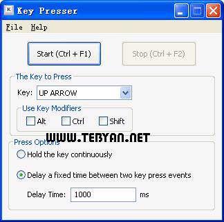 فشردن خودکار دکمه صفحه کلید، RobotSoft Key Presser 2.1.6.2