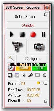 فیلم برداری از محیط دسکتاپ، BSR Screen Recorder 6.1.8