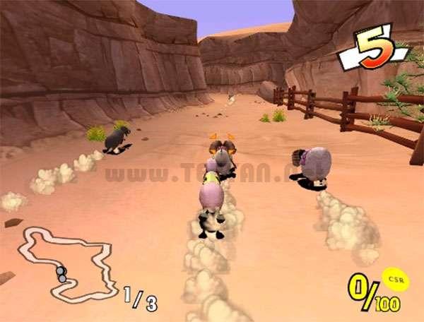 بازی مسابقه رالی گوسفندها، Champion Sheep Rally