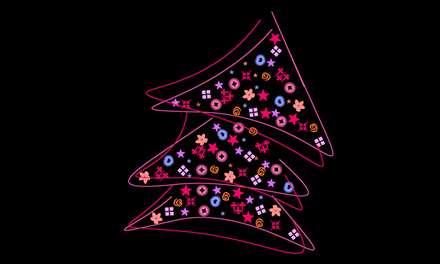 درخت کریسمس جالب