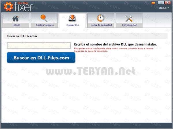 رفع خطای فایل های DLL + پرتابل، DLL-Files Fixer 2.9.72.2521