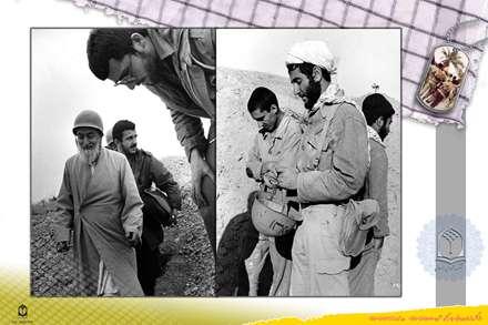 حضور روحانيون در جبهه ها