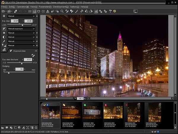 تبدیل و بهینه سازی کیفیت تصاویر، SILKYPIX Developer Studio Pro 5.0.28.0