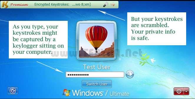 رمزگذاری اطلاعات، KeyScrambler Premium 2.9.3.0
