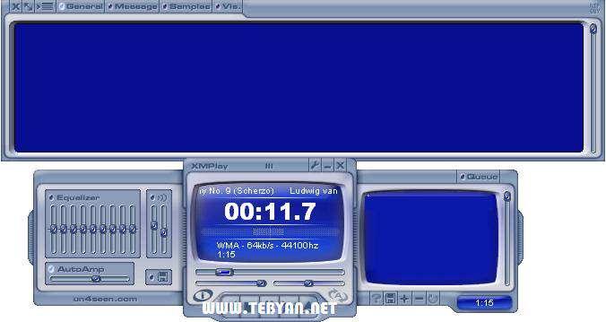 پلیر صوتی رایگان و کم حجم، XMPlay 3.7