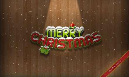 کارت پستال تبریک کریسمس
