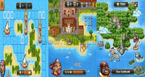 بازی کشتی دزدان دریایی نسخه جاوا، Pirate Ship Battles