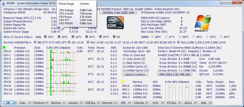 ابزار قدرتمند مشاهده اطلاعات رایانه، System Information Viewer 4.36