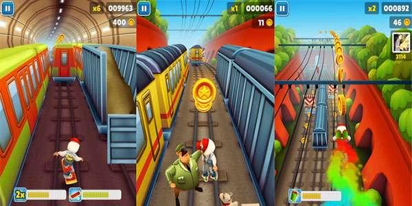بازی موج سواری در مترو نسخه اندروید، Subway Surf 1.7.3