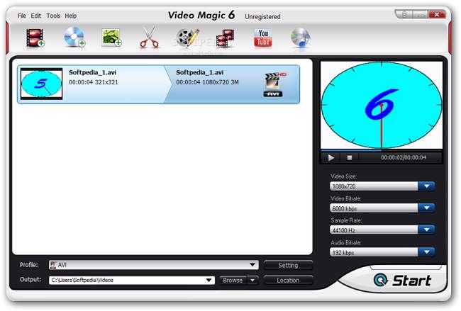 تبدیل کننده فایل های صوتی و تصویری، Blaze Video Magic Ultimate 6.2.0.1