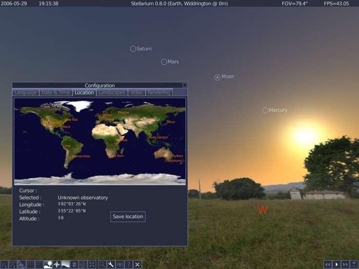 نرم افزار نجوم و ستاره شناسی، Stellarium 0.12.0 Final