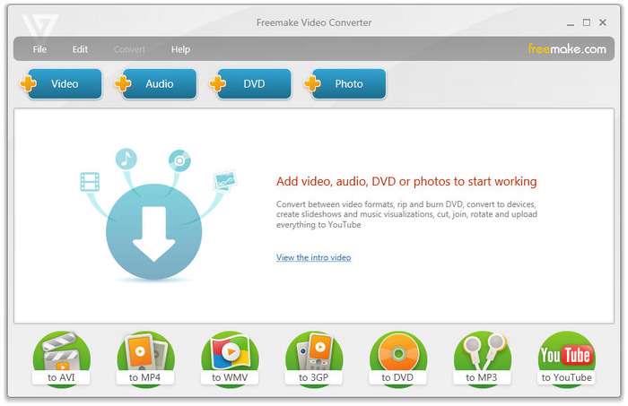 مبدل فرمت های ویدیویی، Freemake Video Converter 3.2.1.5