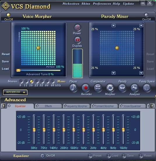تغییر صدای افراد در کامپیوتر، AV Voice Changer Software Diamond 7.0.51 Retail
