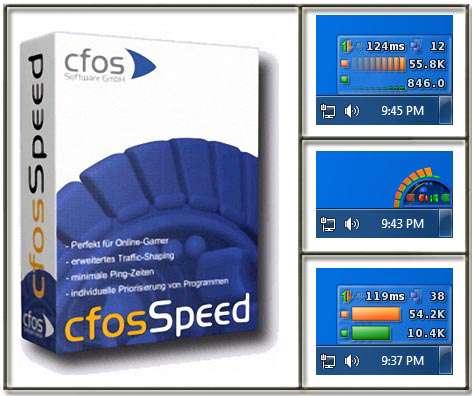 نمایش و افزایش سرعت اینترنت، cFosSpeed 9.04 Build 2051 Final