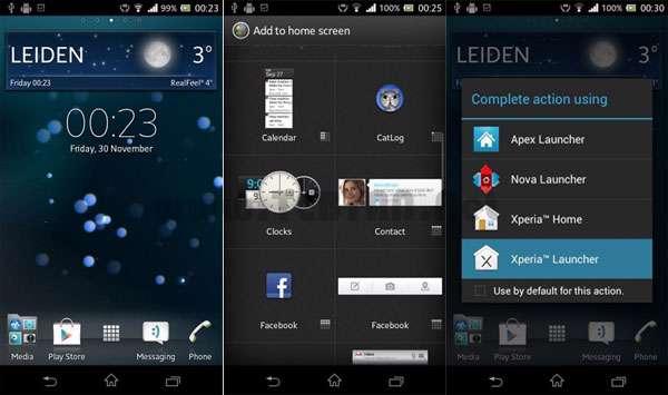 لانچر زیبای Xperia برای موبایل های اندرویدی، Xperia Launcher v1.3.6