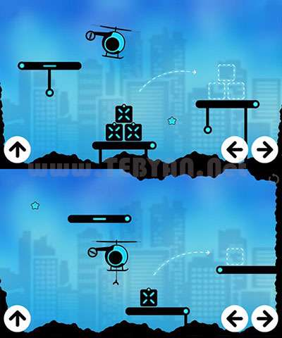 بازی مهیج هلیکوپتر نسخه اندروید، Fly Cargo v1.0.3