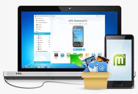 مدیریت موبایل های اندرویدی با کامپیوتر، Wondershare MobileGo for Android Pro 3.0.2