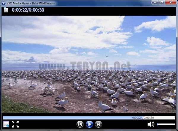 پخش کننده قدرتمند فیلم، VSO Media Player 1.1.2.439