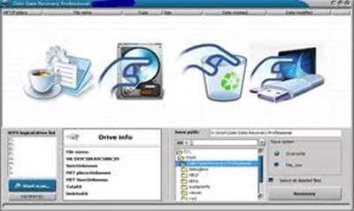 بازیابی قدرتمند اطلاعات، Odin Data Recovery Professional 8.8.8